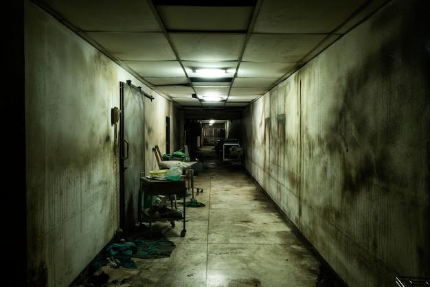 Заброшенная аллея в психиатрической больнице Бесплатные Фотографии