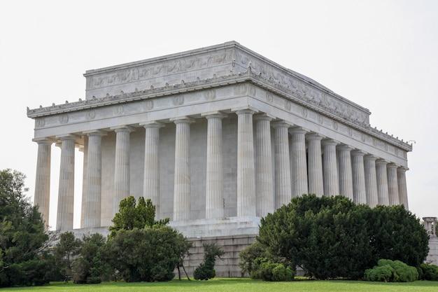 The abraham lincoln memorial, washington dc - usa. Premium Photo