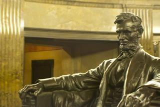 Abraham lincoln scultura Foto Gratuite