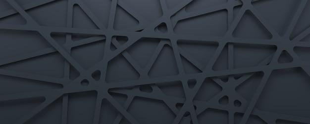 추상적 인 3d 텍스처 회색 기하학적 패턴 배경입니다. 프리미엄 사진