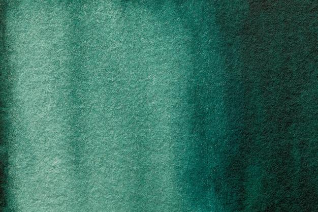 抽象芸術の背景の濃い緑とシアンの色。 Premium写真