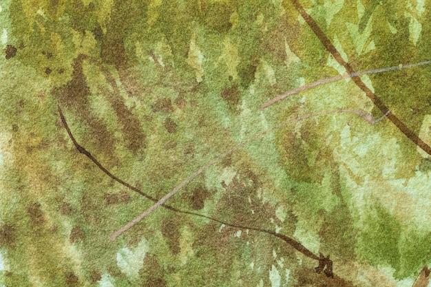 抽象芸術の背景の濃い緑とオリーブ色。 Premium写真