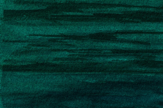 Premium Photo Abstract Art Background Dark Green And Black Colors Watercolor Painting On Canvas With Soft Emerald Gradient Fragment Of Artwork On Paper With Cyan Pattern Texture Backdrop