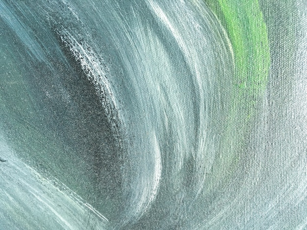 Abstract art background green and blue color. Premium Photo