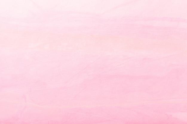 Абстрактное искусство фон светло-розового цвета. многоцветная роспись на холсте. Premium Фотографии