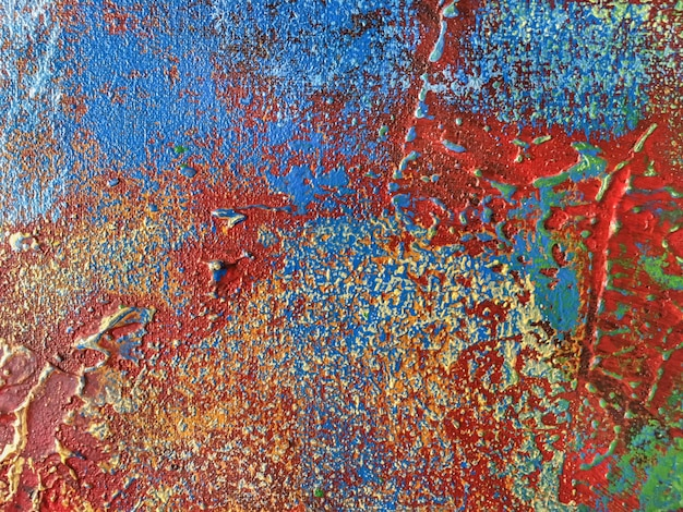 Abstract art background with red and blue colors Premium Photo