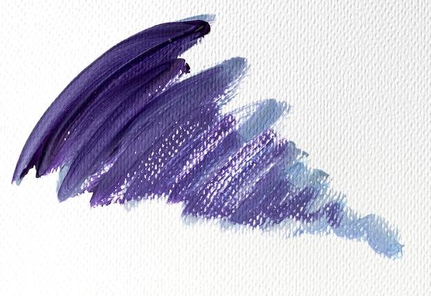 Абстрактное искусство фиолетовая краска пятно на холсте Бесплатные Фотографии