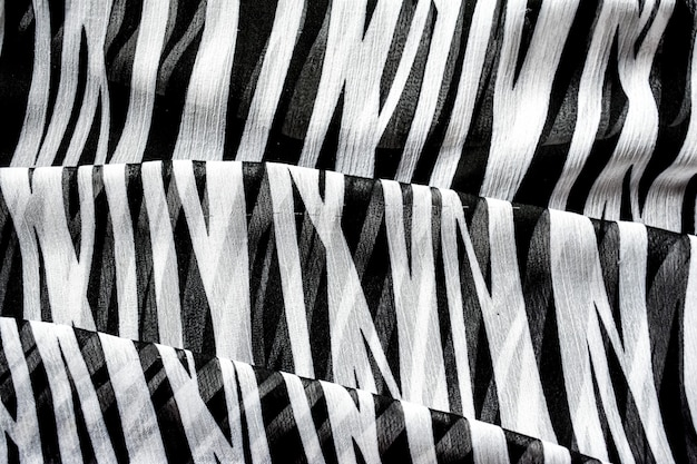 Abstract background in black and white stripes Premium Photo