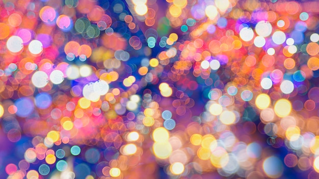 Abstract background bokeh used as a general design surface. Premium Photo