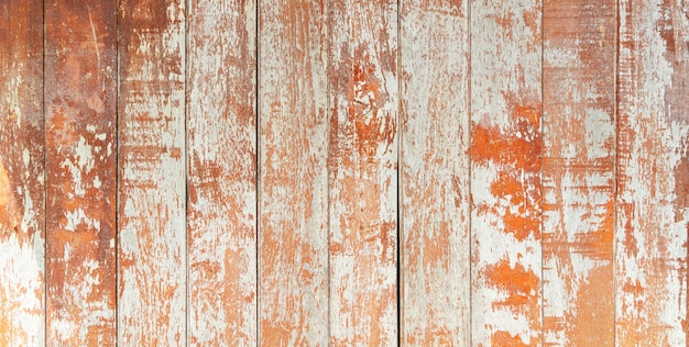 Abstract background from old brown wood pattern wall with grunge and scratched. Premium Photo