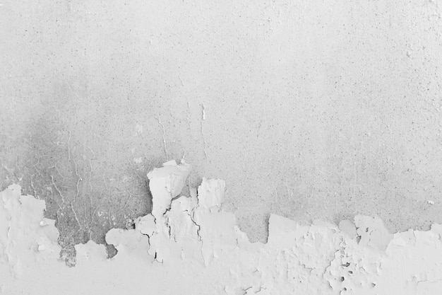 Abstract background from old white concrete wall with peeled off color surface. Premium Photo