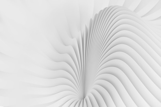 Abstract background from a serpentine flowing waves Premium Photo