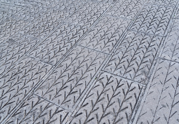 Abstract background - gray paving slabs Premium Photo