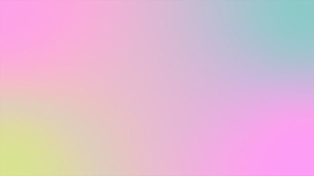 Abstract background holographic gradient futuristic 3d rendering Premium Photo