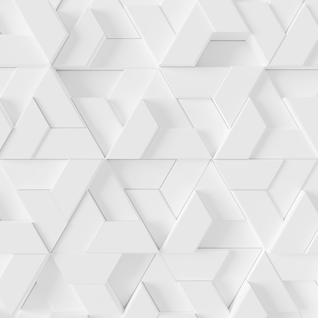 Abstract background of modern tile wall Premium Photo