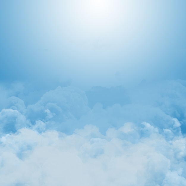 Abstract background of blue sunny sky with clouds Photo ...