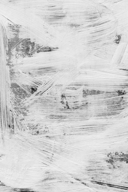 Abstract Background Photo Texture White Brush Strokes Paint