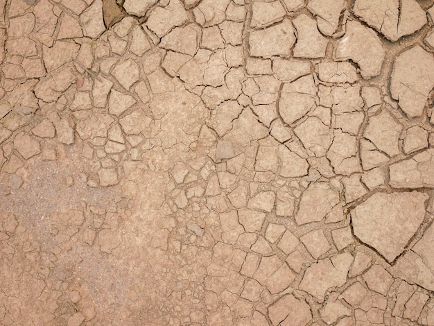 Abstract background rift of soil climate change and drought land Premium Photo