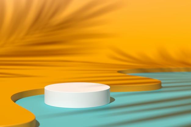 Abstract background,  scene. 3d rendering Premium Photo