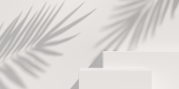 Abstract background,  scene for product display. 3d rendering Premium Photo