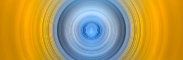 Abstract background of spin circle radial motion blur. Premium Photo