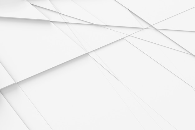 Abstract background of straight lines dissecting the surface into separate parts 3d illustration Premium Photo