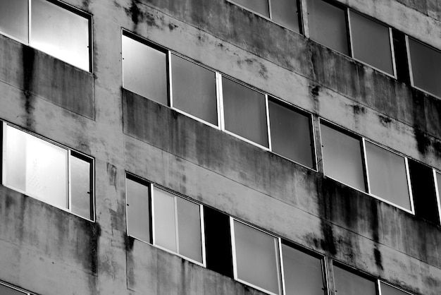 Abstract background texture of window building architecture Premium Photo