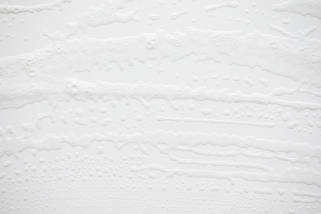 Abstract background white soapy foam texture Premium Photo
