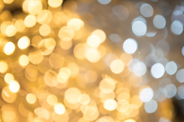 Abstract Background With Bokeh Defocused Lights And Stars Photo Free Download
