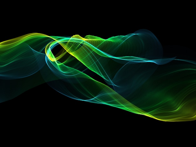 Abstract background with flowing lines Free Photo