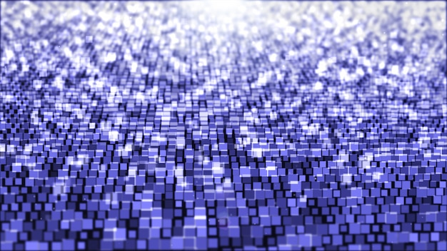 Abstract background with square light purple and white. Premium Photo