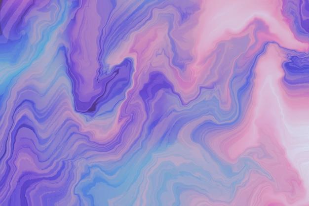 물결 모양의 페인트 텍스처와 추상 배경 무료 사진