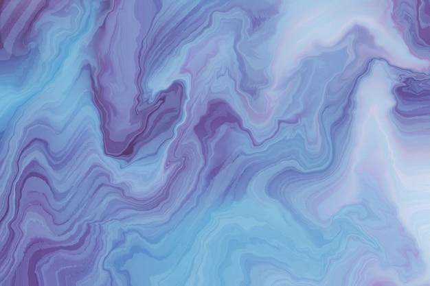 波状のペイントテクスチャと抽象的な背景 無料写真