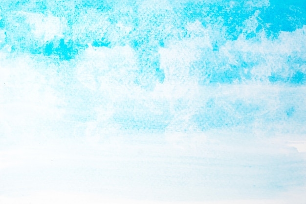 Premium Photo Abstract Beautiful Light Blue Watercolor And Texture Isolated On White Background