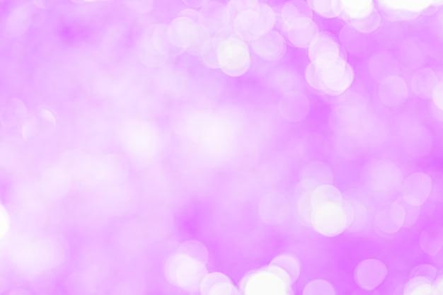 Abstract beautiful white bokeh on pink background. Premium Photo