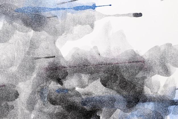 抽象的な黒の水彩コピースペースパターンの背景 無料写真