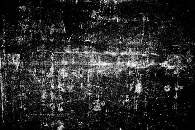 Abstract black and white grunge surface texture background. Premium Photo