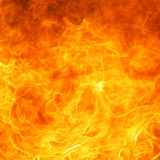 Abstract blaze fire flame texture background Premium Photo
