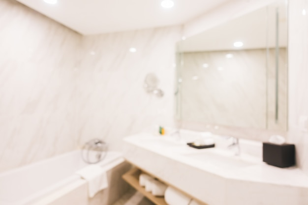 Abstract blur bathroom Free Photo