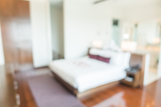 Abstract blur bedroom Free Photo