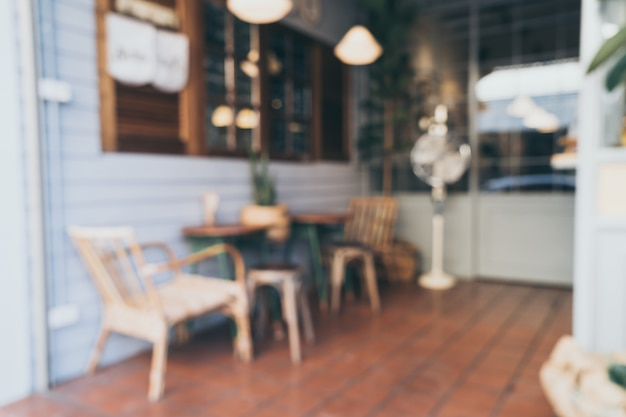 Abstract blur and defocus in coffee shop and cafe for background Premium Photo