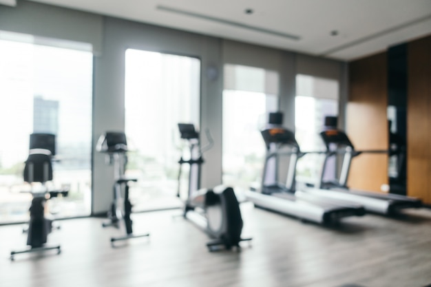 Abstract blur and defocused gym equipment Free Photo