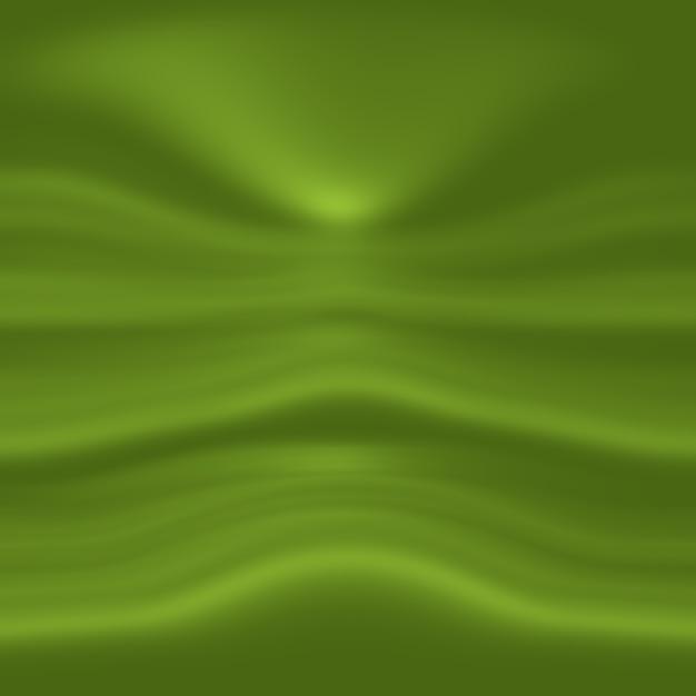 Абстрактные размытия пустой зеленый градиент studio хорошо использовать в качестве фона, шаблона веб-сайта, рамки, бизнес-отчета. Бесплатные Фотографии