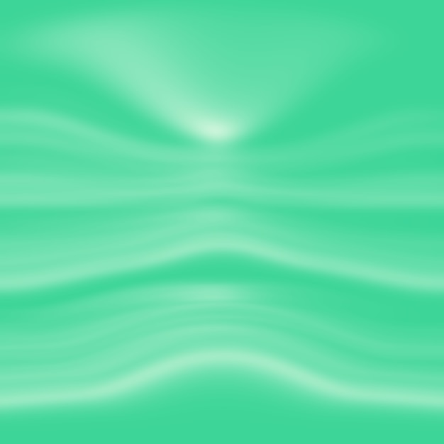 Sfuocatura astratta vuota gradiente verde studio ben utilizzare come sfondo, modello di sito web, cornice, affari Foto Gratuite