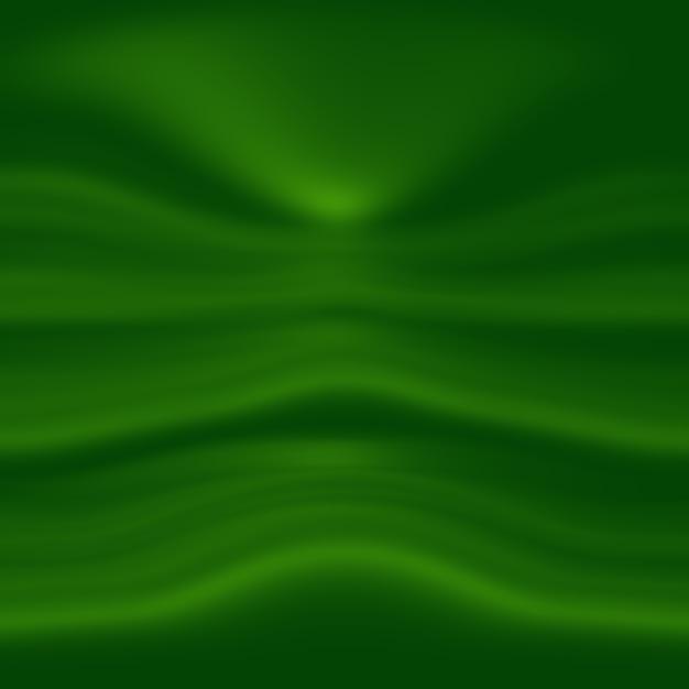 Абстрактные размытия пустой зеленый градиент студия хорошо использовать в качестве фона, шаблона веб-сайта, рамки, бизнеса Бесплатные Фотографии