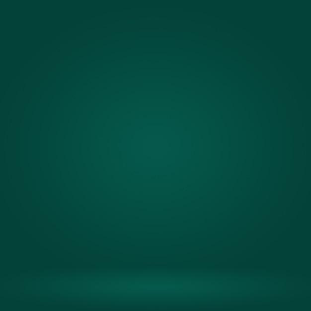 Аннотация размытие пустой зеленый градиент studio хорошо использовать в качестве фона Premium Фотографии