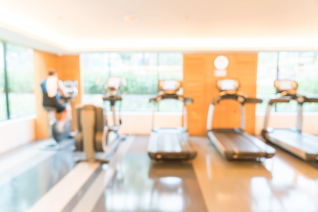 Abstract blur gym Free Photo