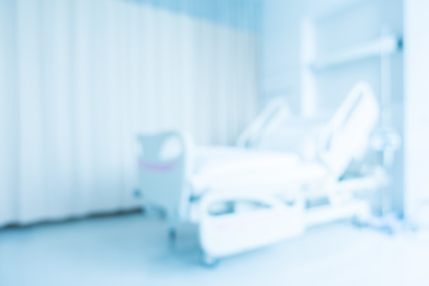 Abstract blur hospital and clinic interior Free Photo