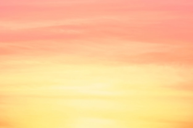 Abstract Blur Light Gradient Pink Soft Pastel And Yellow For