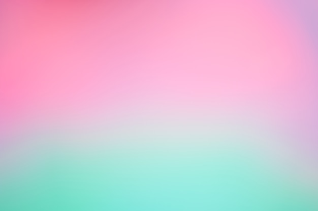 Abstract blur light gradient  purple and green soft pastel color wallpaper background. Premium Photo